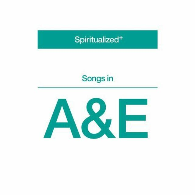 Spiritualized SONGS IN A&E Vinyl Record - UK Import