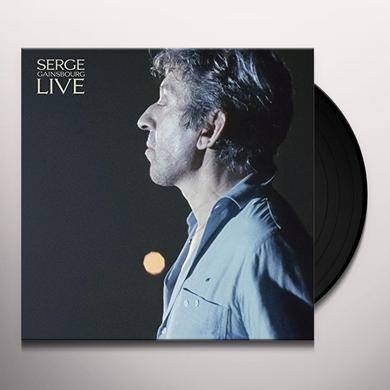 Serge Gainsbourg LIVE AT CASINO DE PARIS Vinyl Record - UK Import