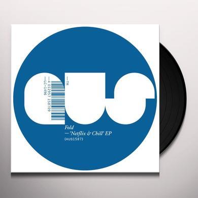 Fold NETFLIX & CHILL Vinyl Record