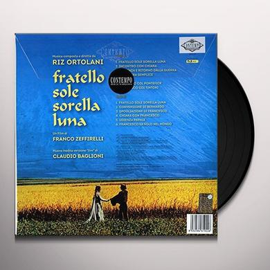 Riz Ortolani FRATELLO SOLE SORELLA LUNA / O.S.T. Vinyl Record