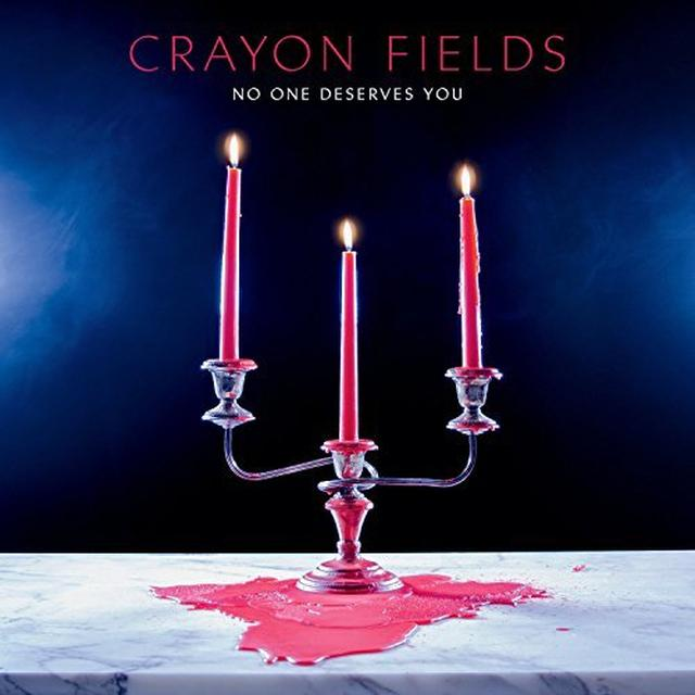 Crayon Fields NO ONE DESERVES YOU Vinyl Record