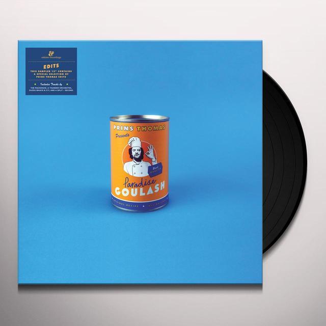 Prins Thomas PARADISE GOULASH EDITS Vinyl Record