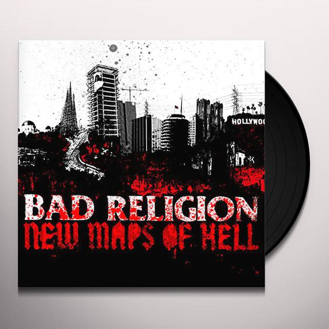 Bad Religion NEW MAPS OF HELL Vinyl Record