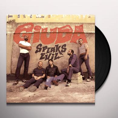 Giuda SPEAKS EVIL Vinyl Record - Black Vinyl