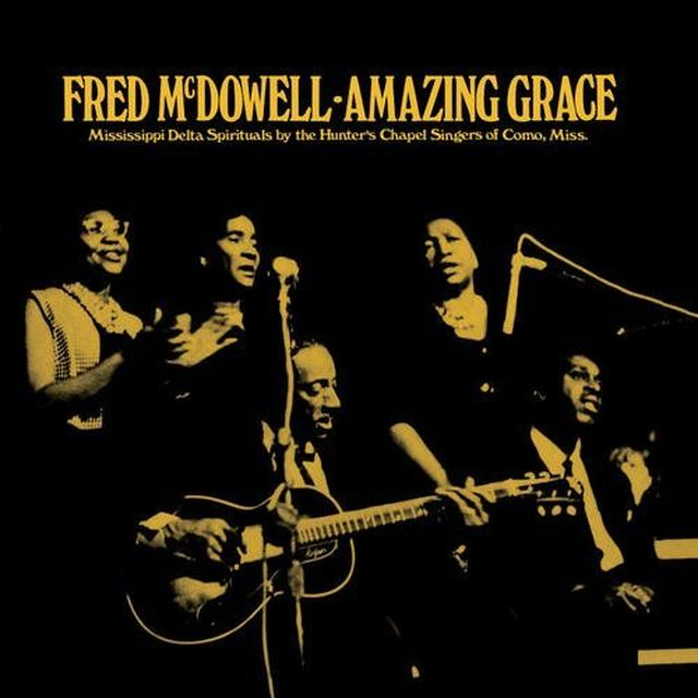 Fred Mcdowell AMAZING GRACE Vinyl Record - Gold Vinyl, Limited Edition
