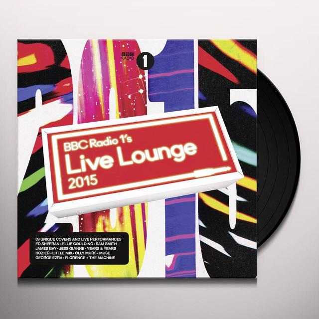 BBC RADIO 1'S LIVE LOUNGE 2015 / VARIOUS (UK) BBC RADIO 1'S LIVE LOUNGE 2015 / VARIOUS Vinyl Record - UK Release