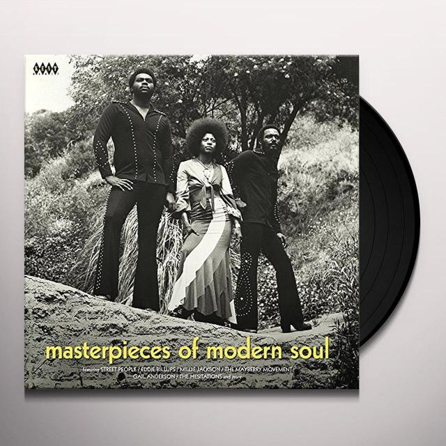 MASTERPIECES OF MODERN SOUL / VARIOUS (UK) MASTERPIECES OF MODERN SOUL / VARIOUS Vinyl Record - UK Import