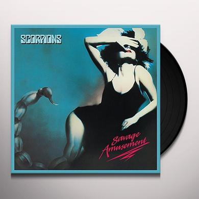 Scorpions SAVAGE AMUSEMENT: 50TH ANNIVERSARY (BONUS CD) Vinyl Record