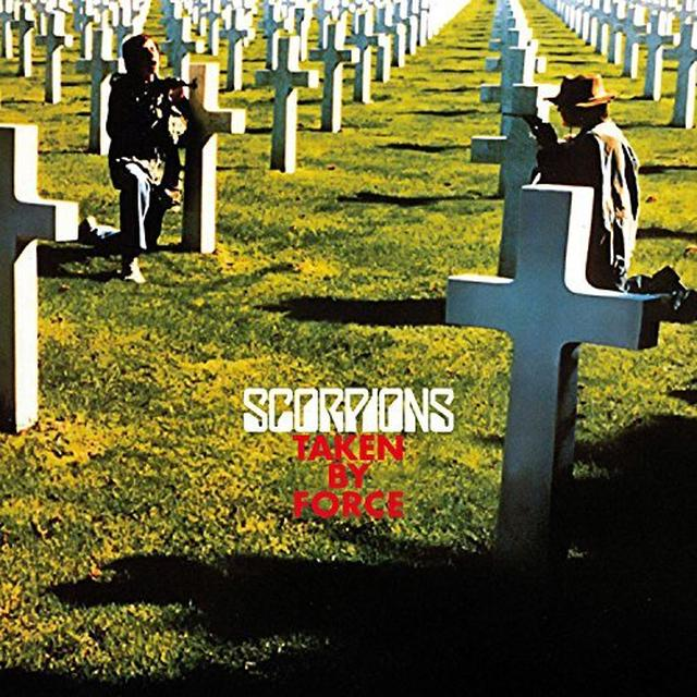 Scorpions TAKEN BY FORCE: 50TH ANNIVERSARY (BONUS CD) Vinyl Record - Anniversary Edition