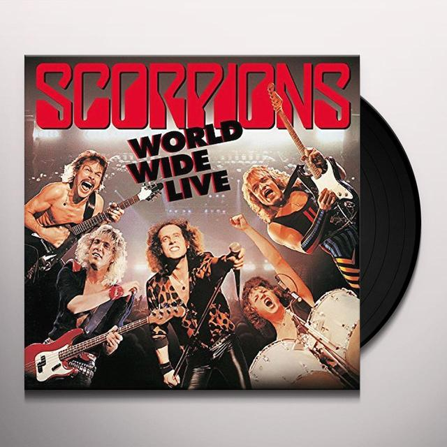 Scorpions WORLD WIDE LIVE: 50TH ANNIVERSARY Vinyl Record