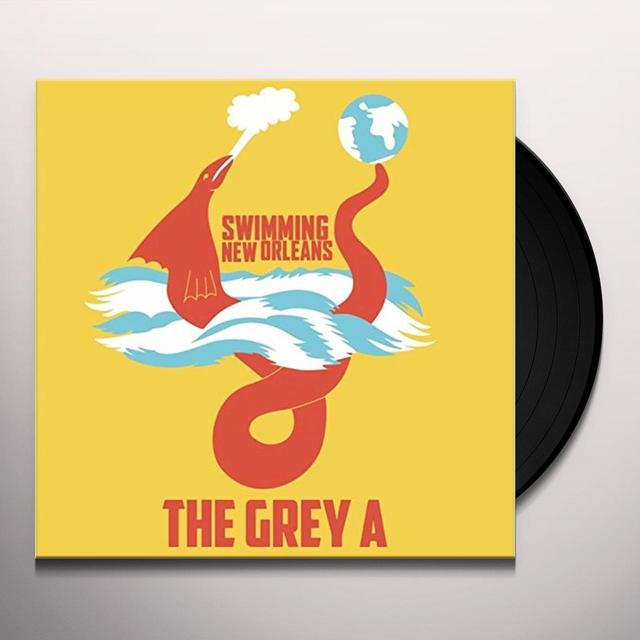 GREY A SWIMMING NEW ORLEANS Vinyl Record