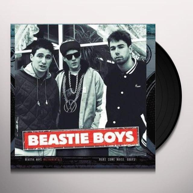 Beastie Boys INSTRUMENTALS - MAKE SOME NOISE BBOYS Vinyl Record
