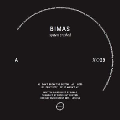 Bimas SYSTEM CRASHED Vinyl Record