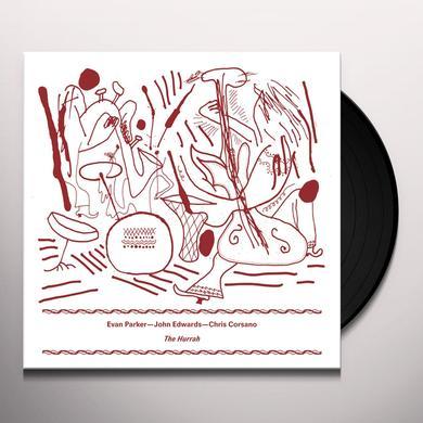 Evan Parker / John Edwards / Chris Corsano HURRAH Vinyl Record