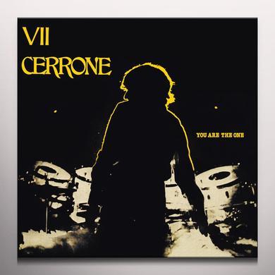 YOU ARE THE ONE (CERRONE VII) Vinyl Record - w/CD, Colored Vinyl, Yellow Vinyl