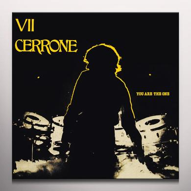 YOU ARE THE ONE (CERRONE VII) Vinyl Record - w/CD, Colored Vinyl, Yellow Vinyl