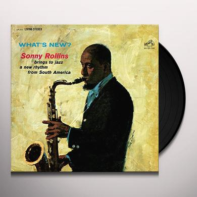 Sonny Rollins WHAT'S NEW Vinyl Record