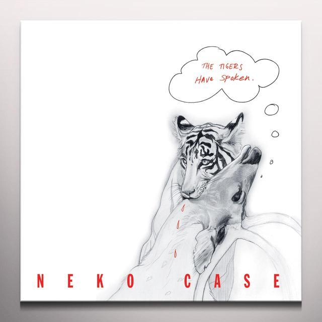 Neko Case TIGERS HAVE SPOKEN Vinyl Record - Colored Vinyl, Red Vinyl, Digital Download Included
