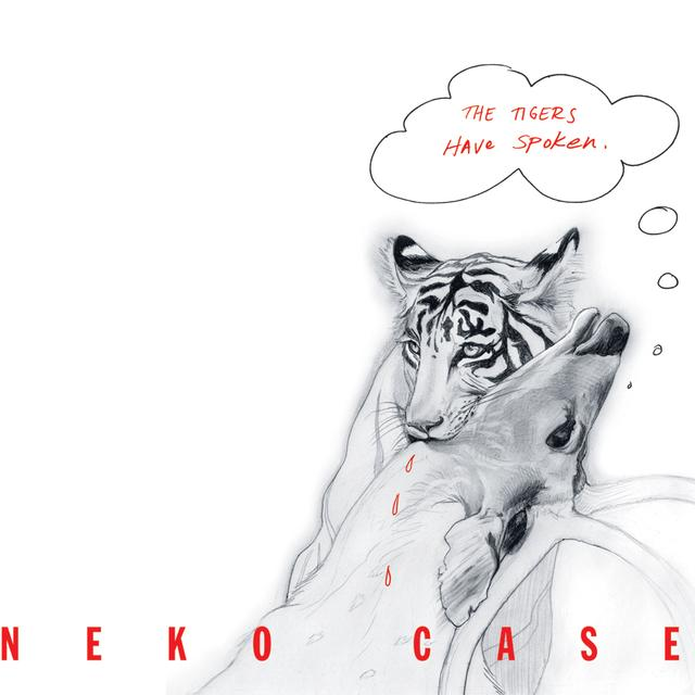 Neko Case TIGERS HAVE SPOKEN Vinyl Record - Colored Vinyl, Red Vinyl, Digital Download Included