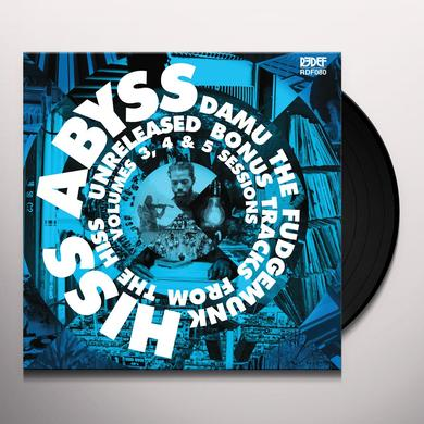 Damu The Fudgemunk HISS ABYSS: HOW IT SHOULD SOUND 3 4 & 5 Vinyl Record - 10 Inch Single