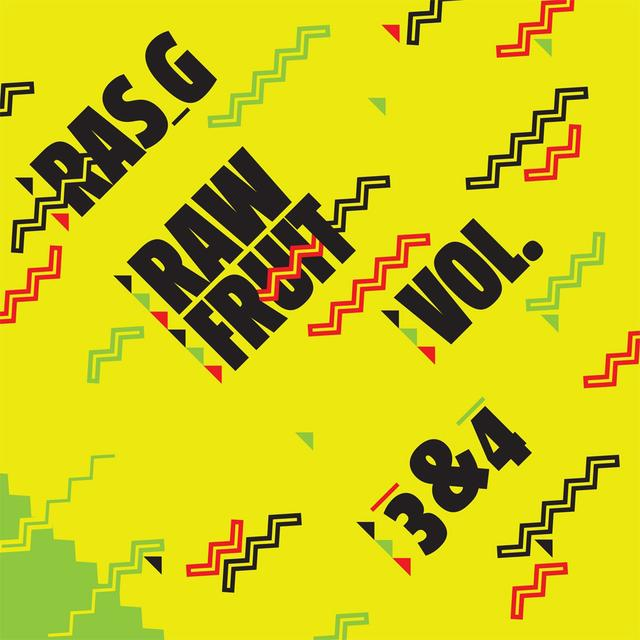 Ras G RAW FRUIT 3-4 Vinyl Record - Digital Download Included