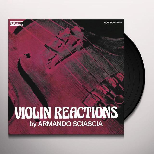 Armando Sciascia VIOLIN REACTIONS / O.S.T. Vinyl Record - Limited Edition, 200 Gram Edition, Remastered