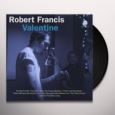 Robert Francis VALENTINE Vinyl Record - 10 Inch Single
