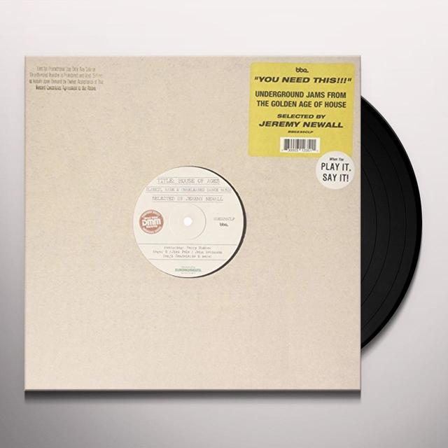 HOUSE OF AGES - SELECTED BY JEREMY NEWALL / VAR Vinyl Record