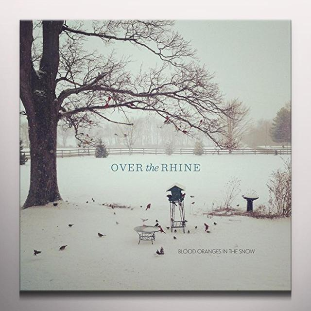 Over The Rhine BLOOD ORANGES IN THE SNOW Vinyl Record - Colored Vinyl, 180 Gram Pressing, Deluxe Edition