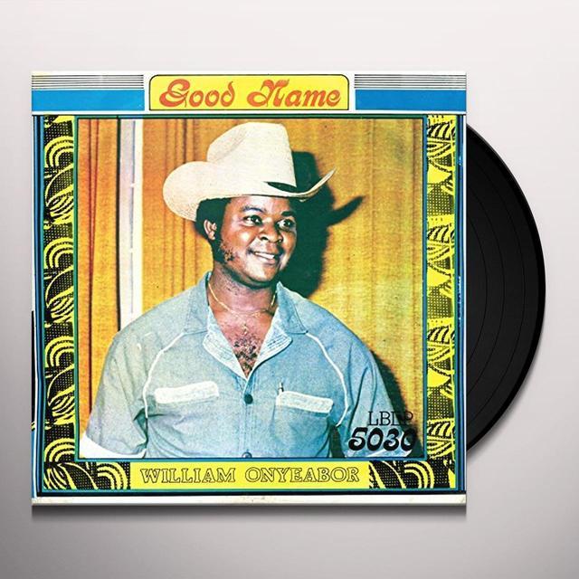 William Onyeabor GOOD NAME Vinyl Record