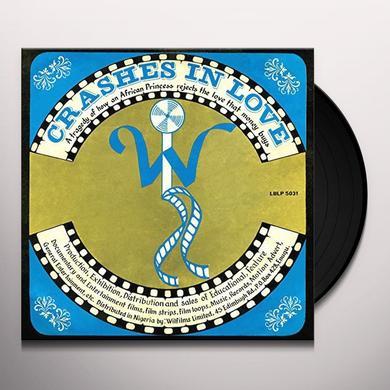William Onyeabor CRASHES IN LOVE (ORIGINAL VERSION) Vinyl Record
