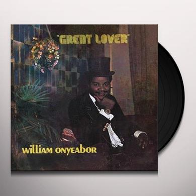 William Onyeabor GREAT LOVER Vinyl Record