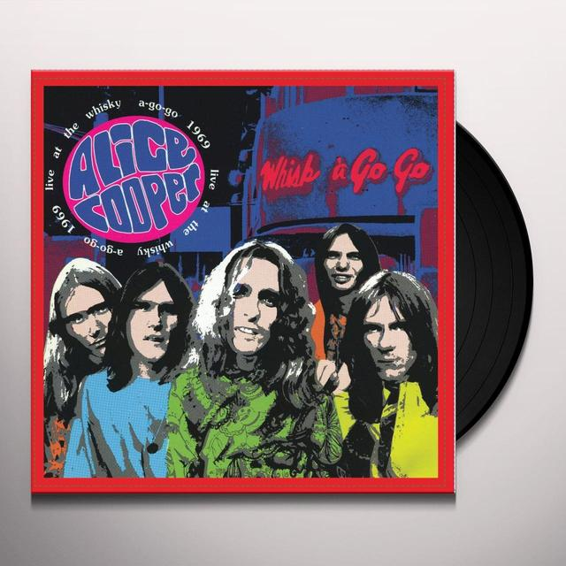 Alice Cooper LIVE AT THE WHISKEY A-GO-GO 1969 Vinyl Record