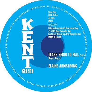 Elaine Armstrong / Bettry Moorer TEARS BEGIN TO FALL/SPEED UP Vinyl Record
