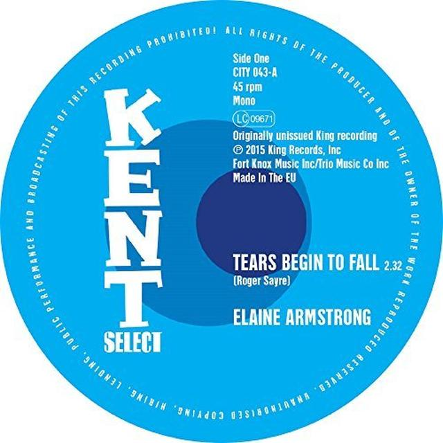 Elaine Armstrong / Bettry Moorer TEARS BEGIN TO FALL/SPEED UP Vinyl Record - UK Import