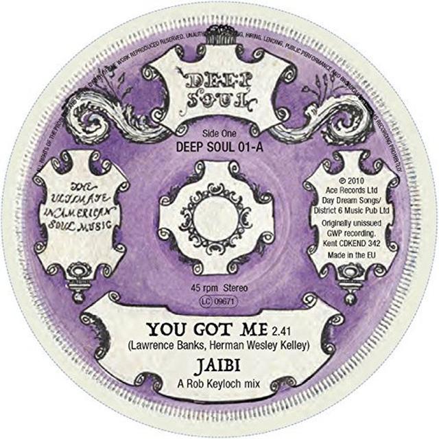 JAIBI/HESITATIONS YOU GOT ME/GOTTA FIND A WAY Vinyl Record - UK Release