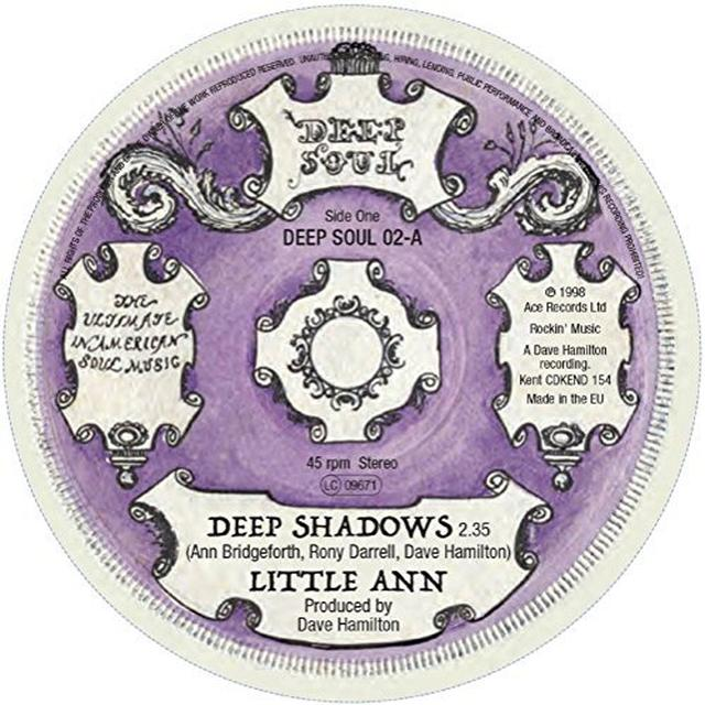 LITTLE ANN/TURN AROUNDS DEEP SHADOWS/STAY AWAY Vinyl Record - UK Release
