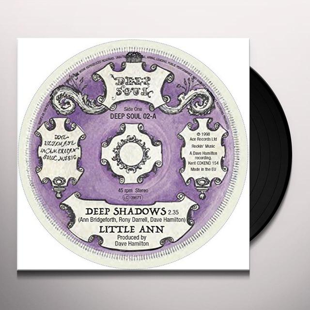 LITTLE ANN/TURN AROUNDS DEEP SHADOWS/STAY AWAY Vinyl Record - UK Import