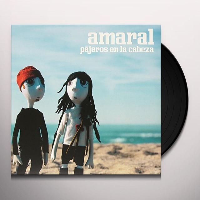 Amaral PAJAROS EN LA CABEZA Vinyl Record - w/CD, Spain Import