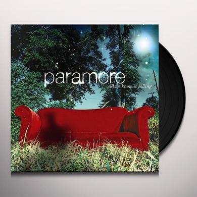 Paramore ALL WE KNOW IS FALLING Vinyl Record