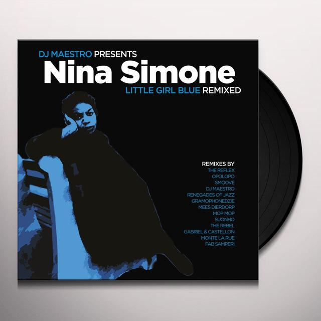 DJ Maestro Presents Nina Simone LITTLE GIRL BLUE REMIXED Vinyl Record