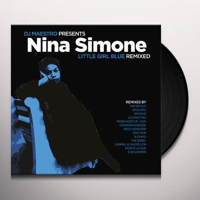 DJ Maestro Presents Nina Simone LITTLE GIRL BLUE REMIXED Vinyl Record