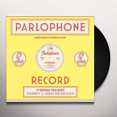 St Germain REAL BLUES (TERRY LAIRD REMIXES) Vinyl Record