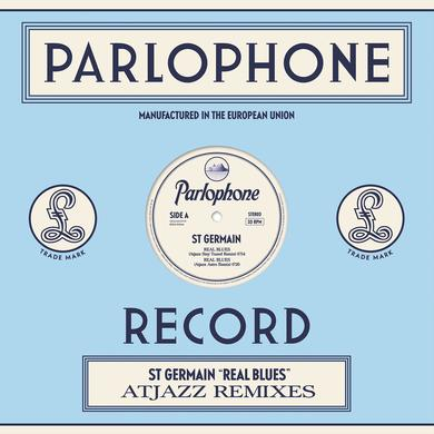 St Germain REAL BLUES (ATJAZZ REMIXES) Vinyl Record