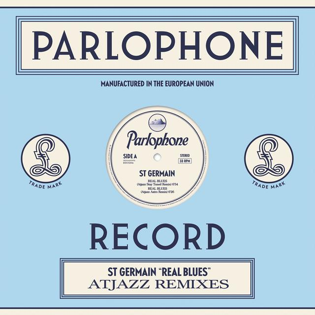 St Germain REAL BLUES (ATJAZZ REMIXES) Vinyl Record