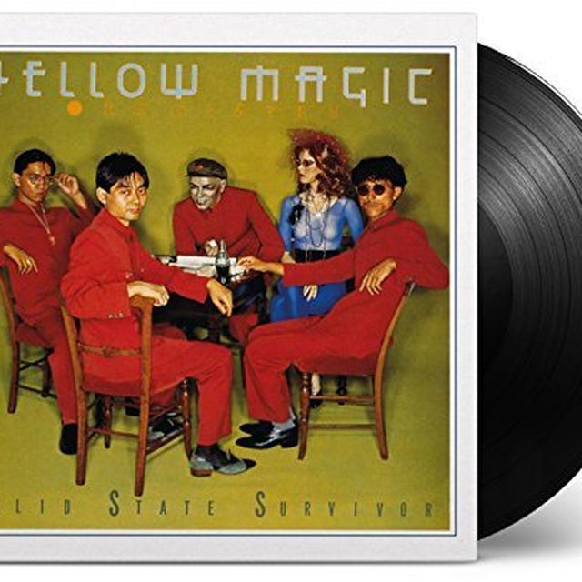 Yellow Magic Orchestra SOLID STATE SURVIVOR Vinyl Record
