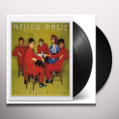 Yellow Magic Orchestra SOLID STATE SURVIVOR Vinyl Record - Holland Import