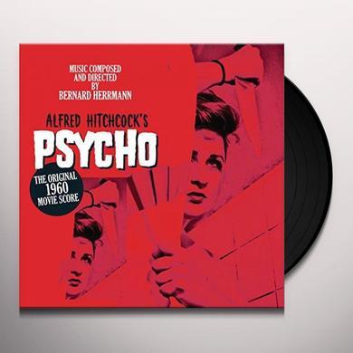 ALFRED HITCHCOCK'S PSYCHO ORIGINAL 1960 SCORE Vinyl Record