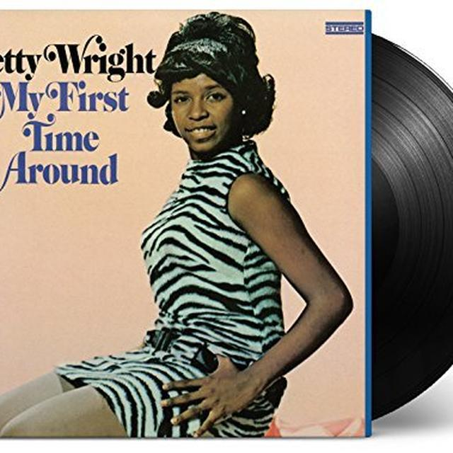 Betty Wright MY FIRST TIME AROUND Vinyl Record