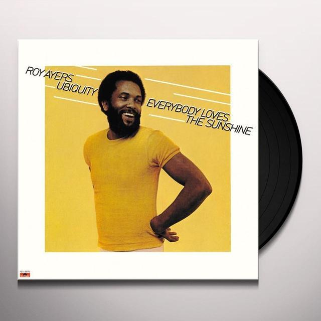 Roy Ayers Ubiquity EVERYBODY LOVES THE SUNSHINE: LIMITED Vinyl Record - Limited Edition, Japan Import